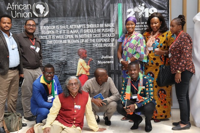 Trainers and Youth Leaders at AU summit