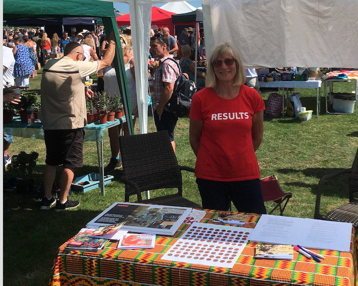 Poole group stall at Harmans Cross Fete
