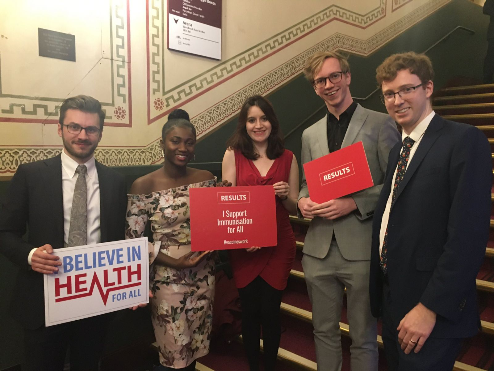 RESULTS London group at the Global Citizen Prize