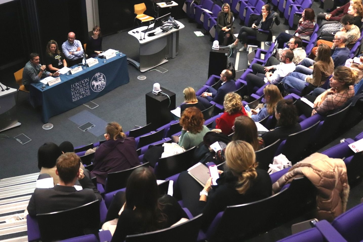 UnMasked Screening and panel at LSHTM