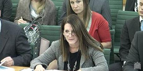 Lynne Featherstone MP, Parliamentary Under-Secretary of State for International Development, gives evidence to the International Development Committee