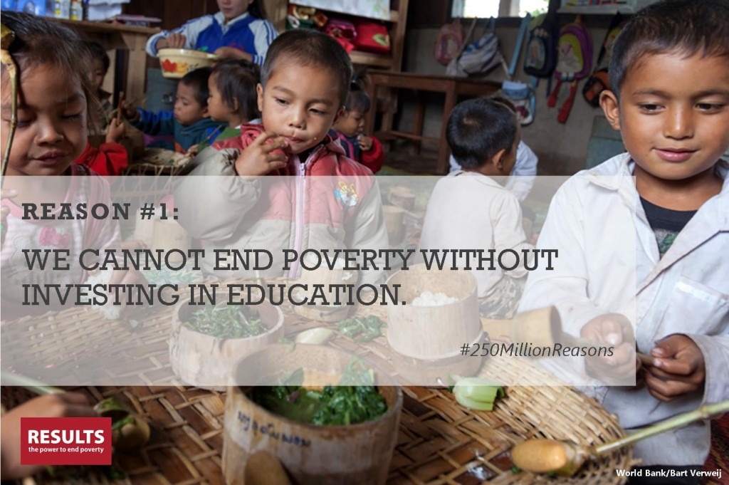 ending world poverty essay